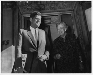 Eleanor Roosevelt & JFK