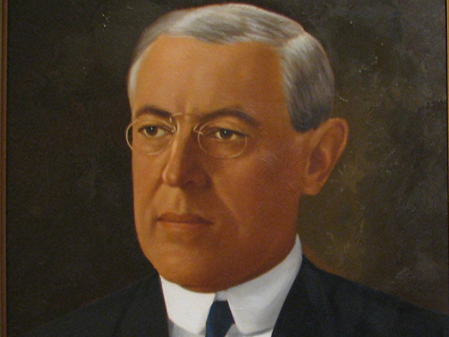 where was woodrow wilson born and raised