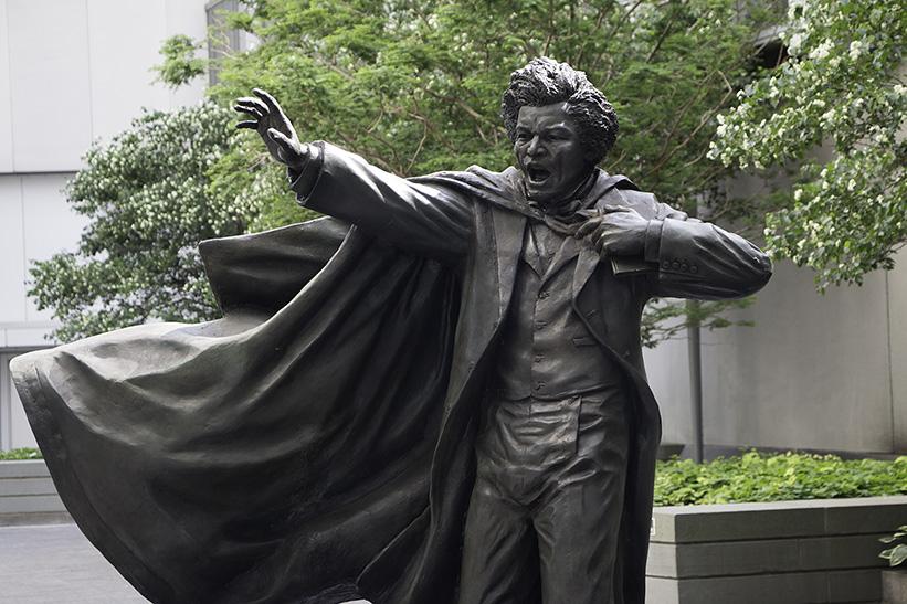Frederick Douglass Statue February 26, 18...