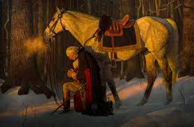 washington praying