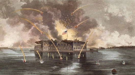 April 28, 1948 — Fort Sumter is Declared a National Monument | The ...