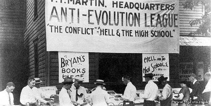 May 5 1925 John T Scopes Is Arrested For Teaching