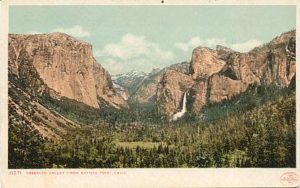 Yosemite post card